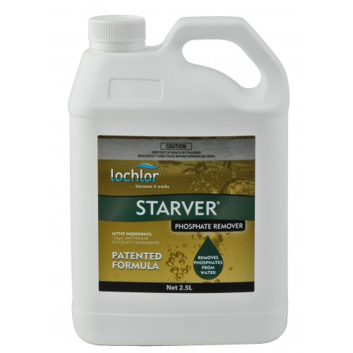Starver liquid 2 5ltr - How to lower phosphates in swimming pool ...